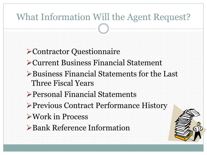 What Information Will the Agent Request?