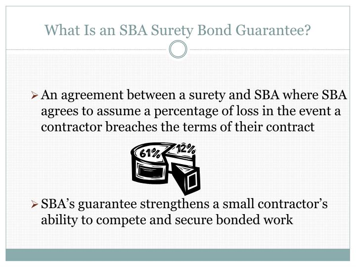 What Is an SBA Surety Bond Guarantee?