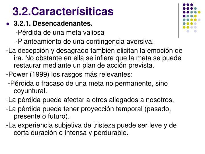 3.2.Caracterísiticas
