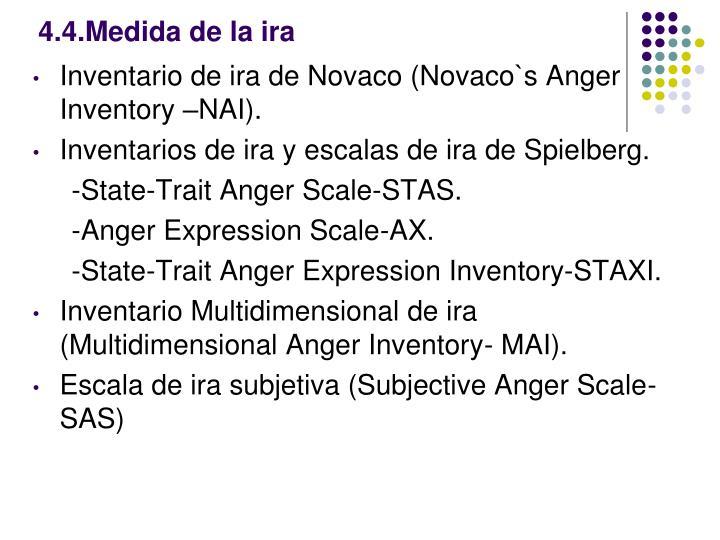 4.4.Medida de la ira