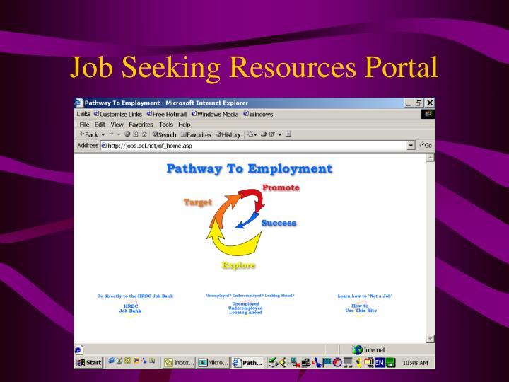 Job Seeking Resources Portal