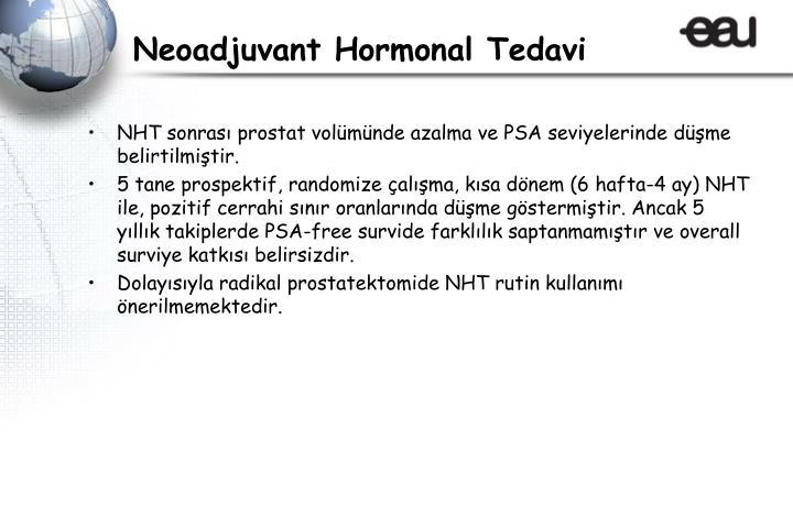 Neoadjuvant Hormonal Tedavi