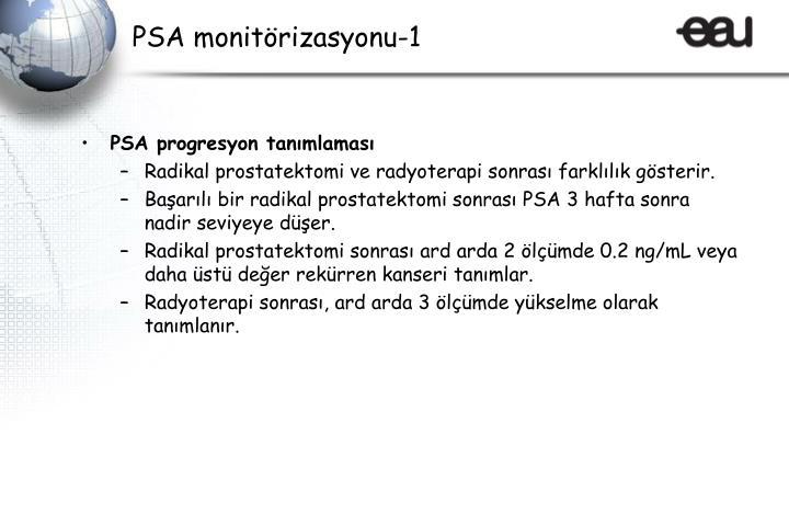 PSA monitörizasyonu-1