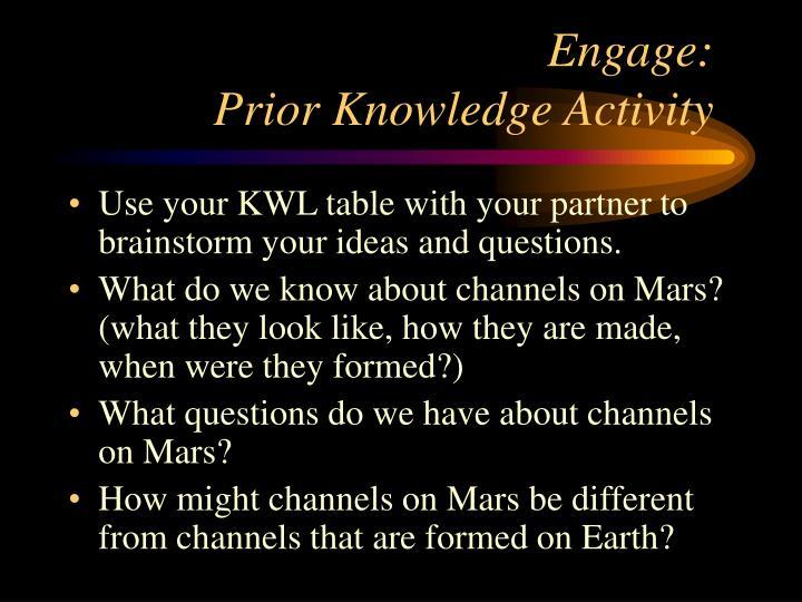 Engage:
