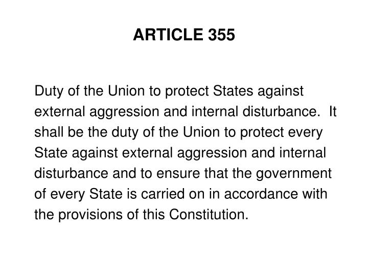 ARTICLE 355