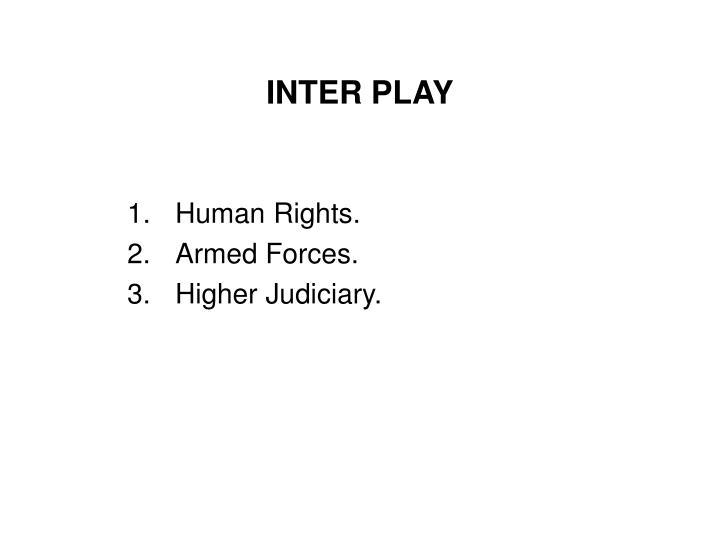 INTER PLAY