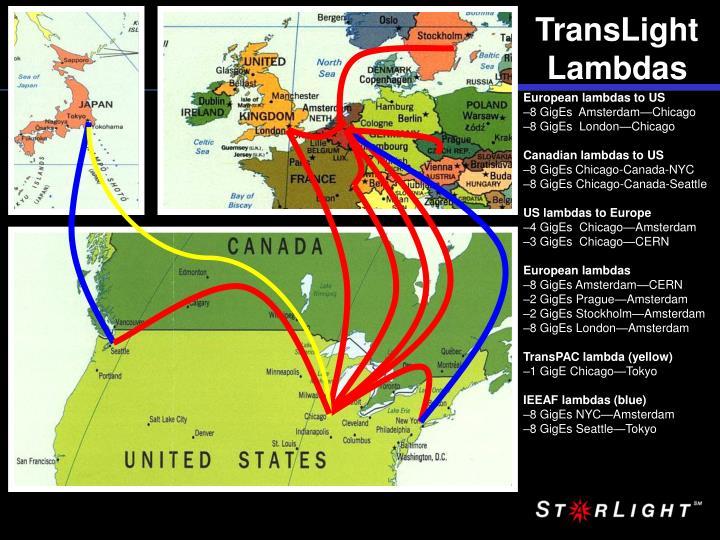 TransLight Lambdas