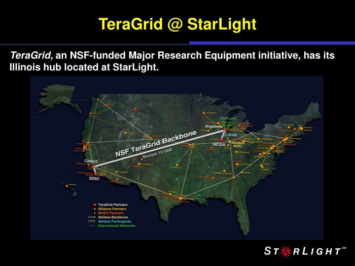 TeraGrid @ StarLight