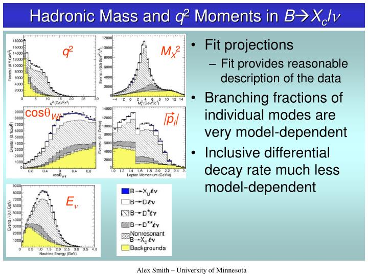 Hadronic Mass and