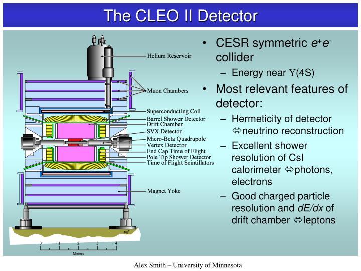 The CLEO II Detector