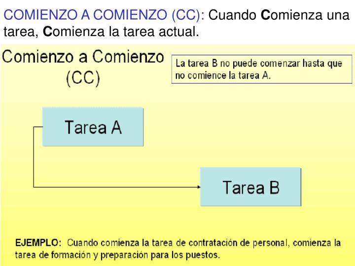 COMIENZO A COMIENZO (CC):