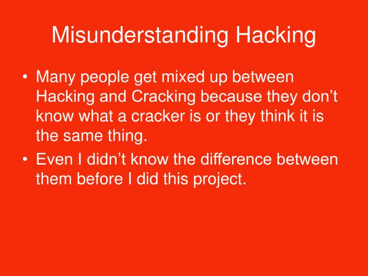 difference between hacking and cracking pdf