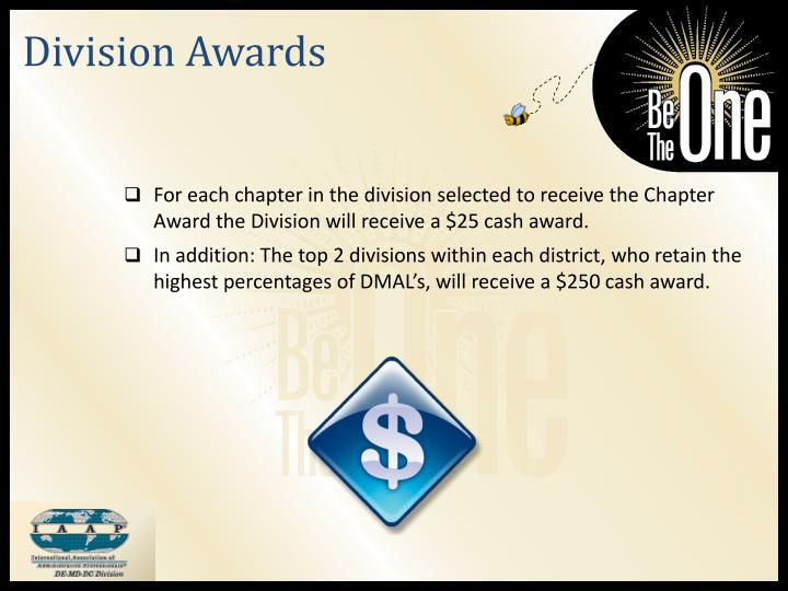 Division Awards