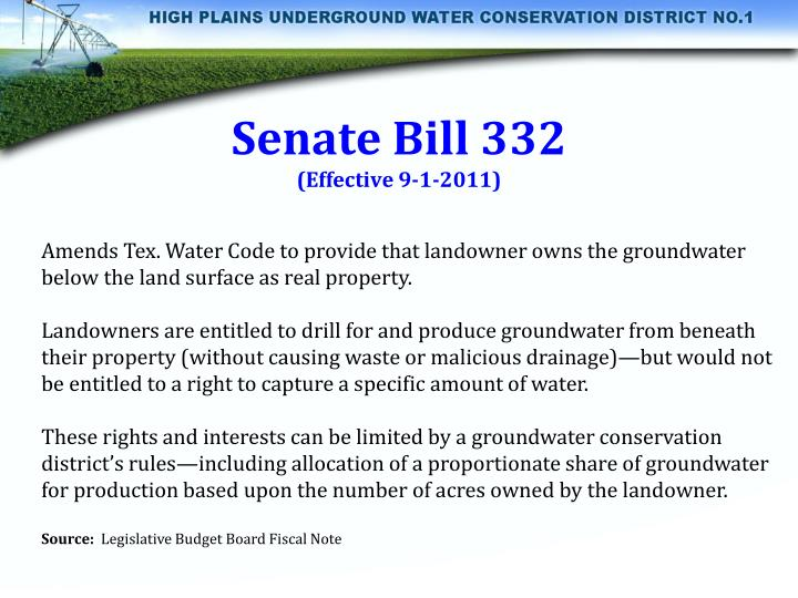 Senate Bill 332