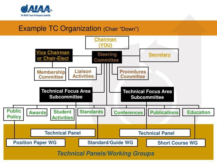 Example TC Organization