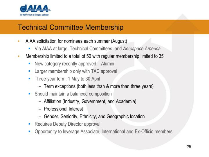 Technical Committee Membership