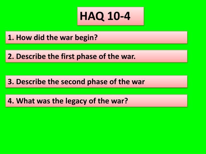 HAQ 10-4