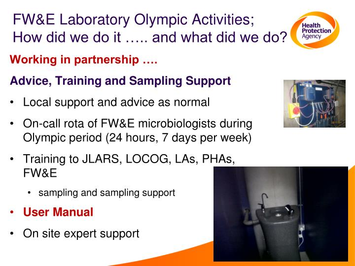 FW&E Laboratory Olympic Activities;