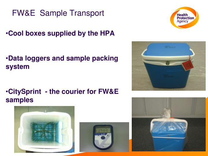 FW&E  Sample Transport