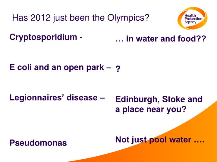 Has 2012 just been the Olympics?