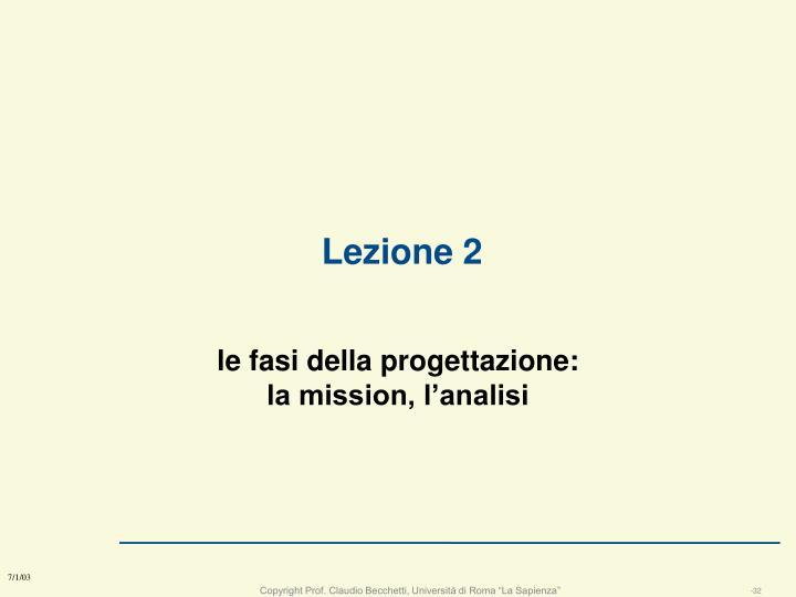 Lezione 2