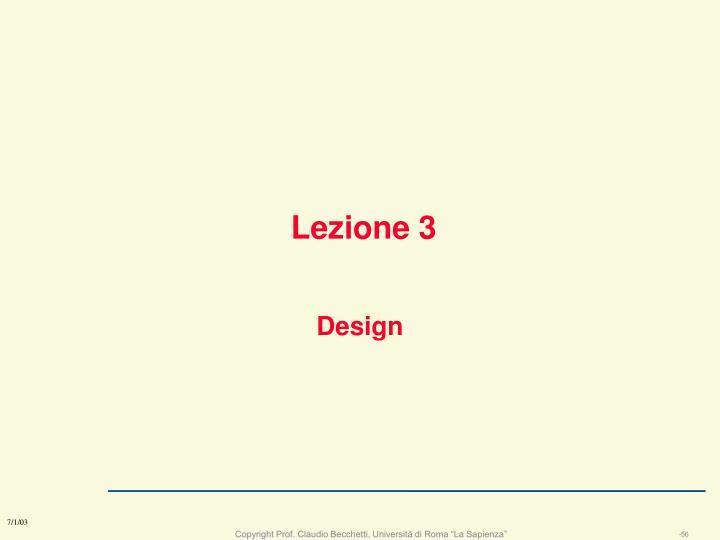 Lezione 3