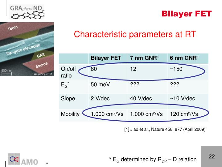 Bilayer FET