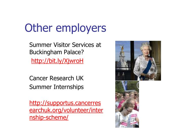 Other employers
