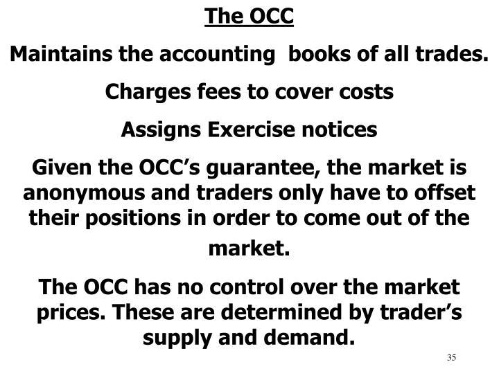 The OCC