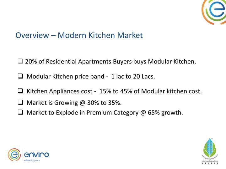 Overview – Modern Kitchen Market