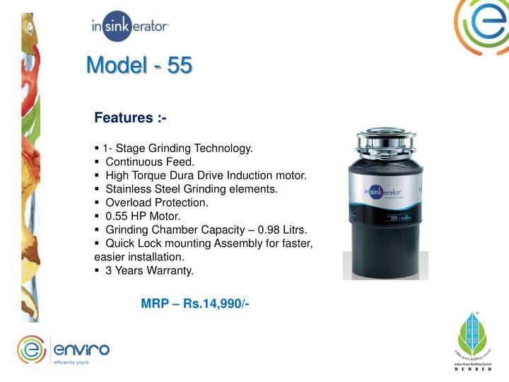Model - 55