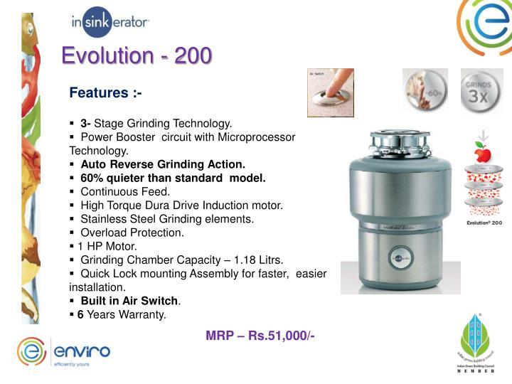 Evolution - 200