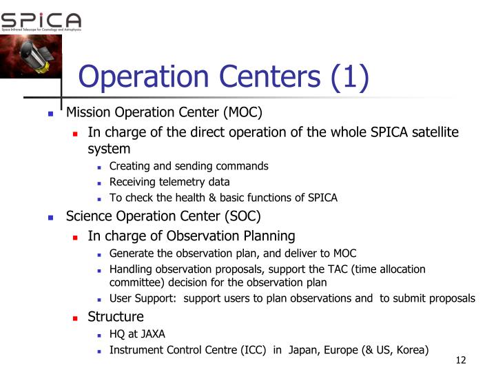 Operation Centers (1)