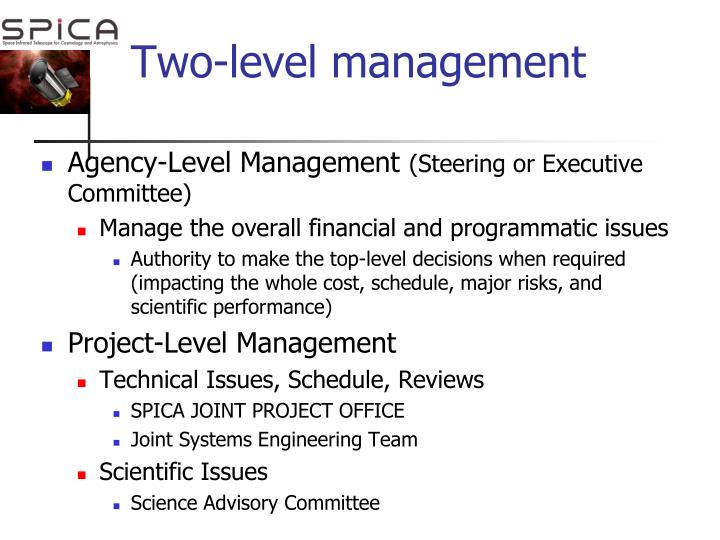 Two-level management