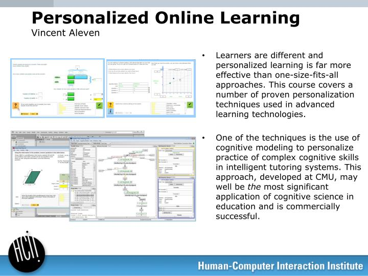 Personalized Online Learning