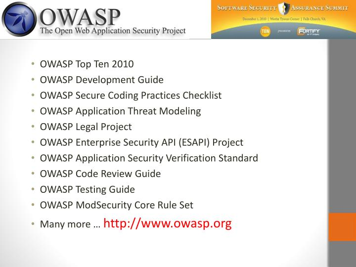 OWASP Top Ten 2010