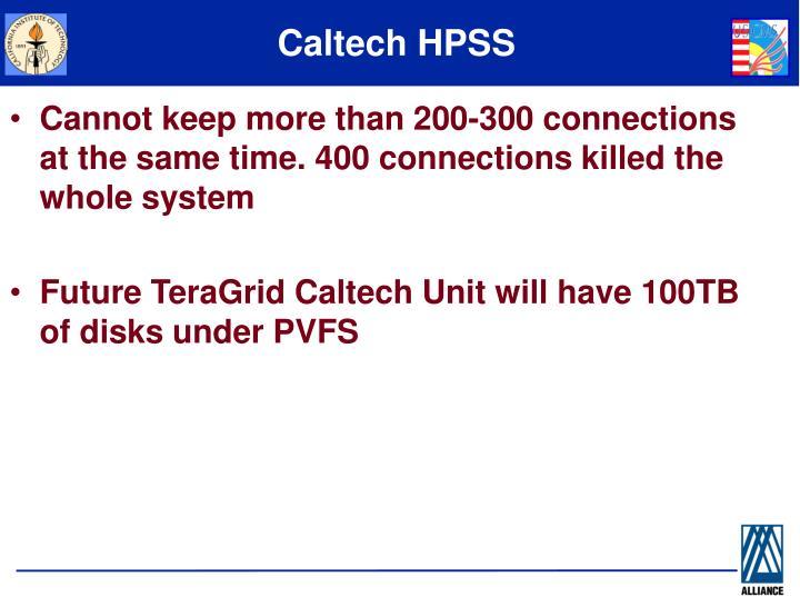Caltech HPSS