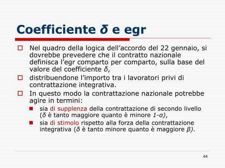 Coefficiente