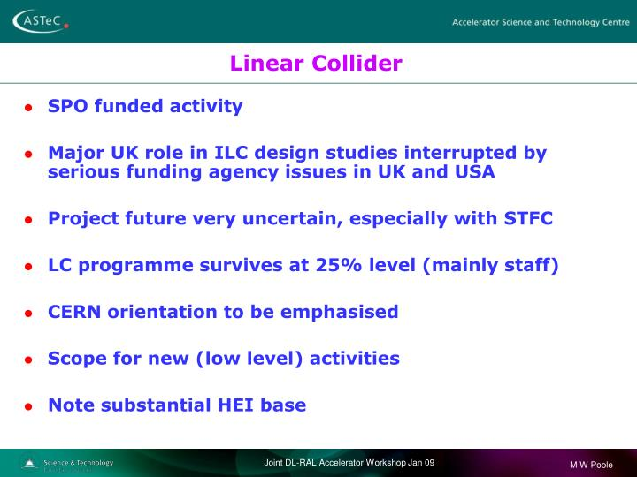 Linear Collider