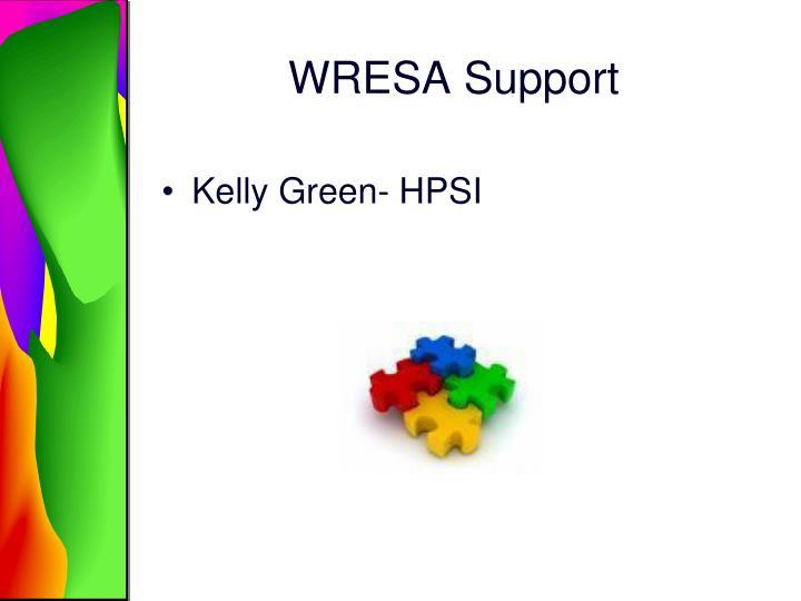 WRESA Support