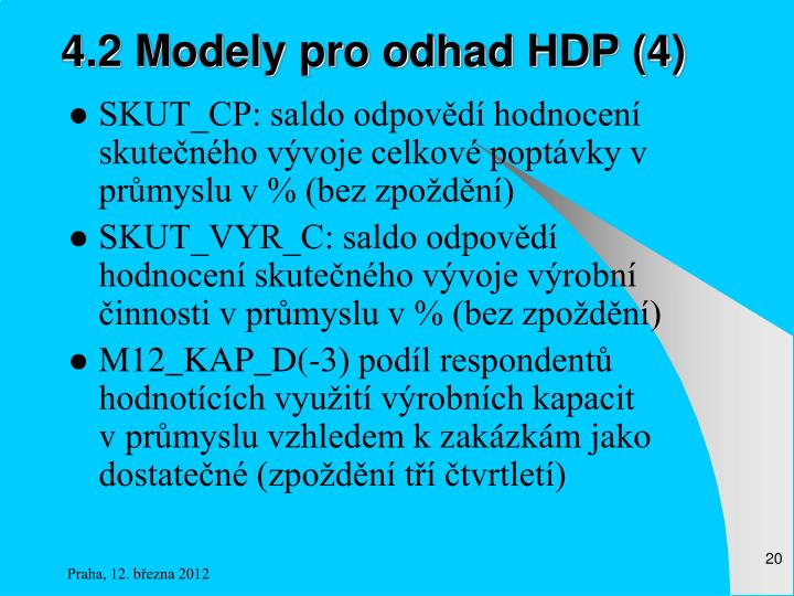 4.2 Modely pro odhad HDP (4)
