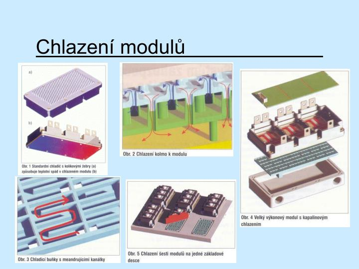 Chlazení modulů