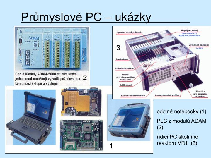Průmyslové PC – ukázky
