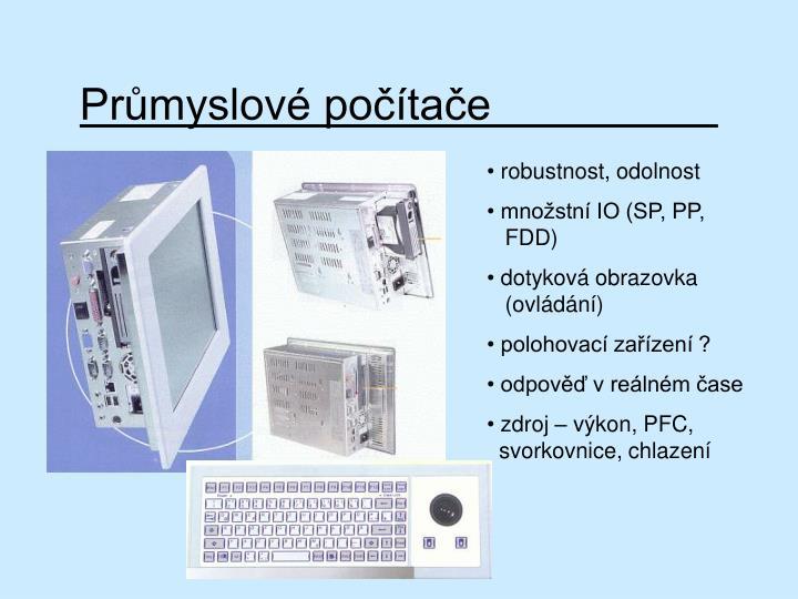 Průmyslové počítače