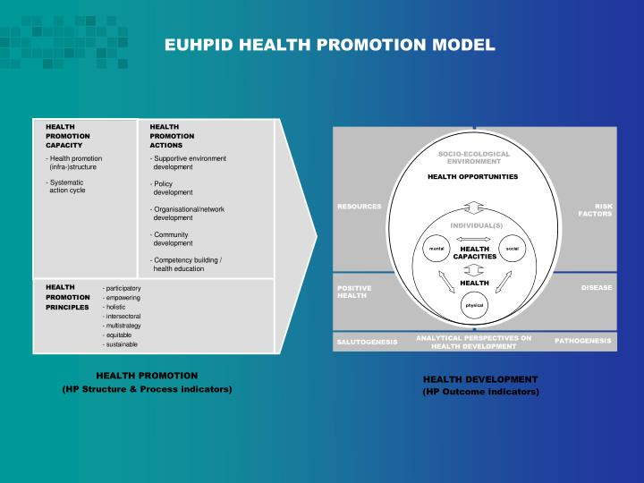 EUHPID HEALTH PROMOTION MODEL