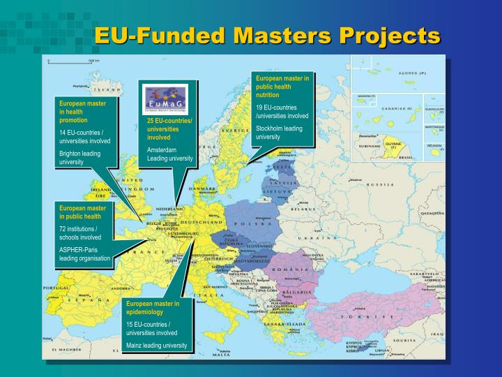 EU-Funded Masters Projects