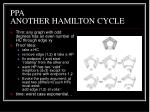 ppa another hamilton cycle