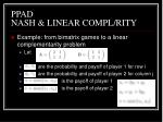 ppad nash linear compl rity2
