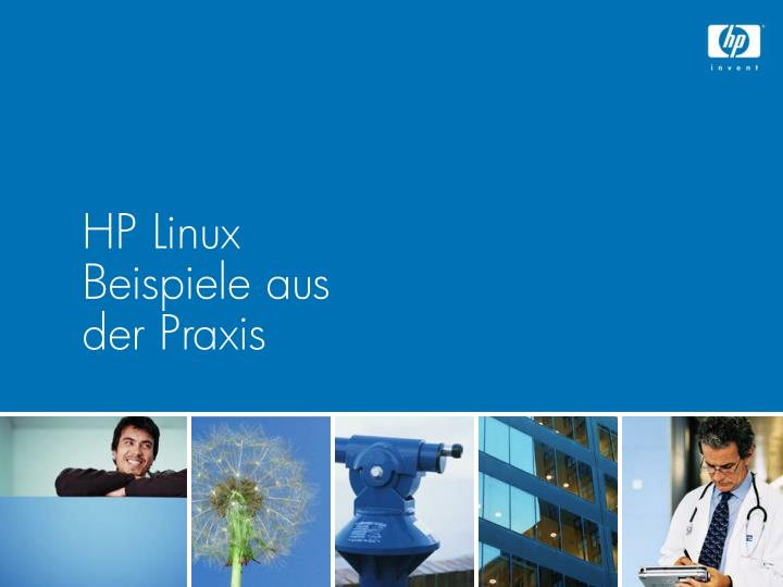 HP Linux