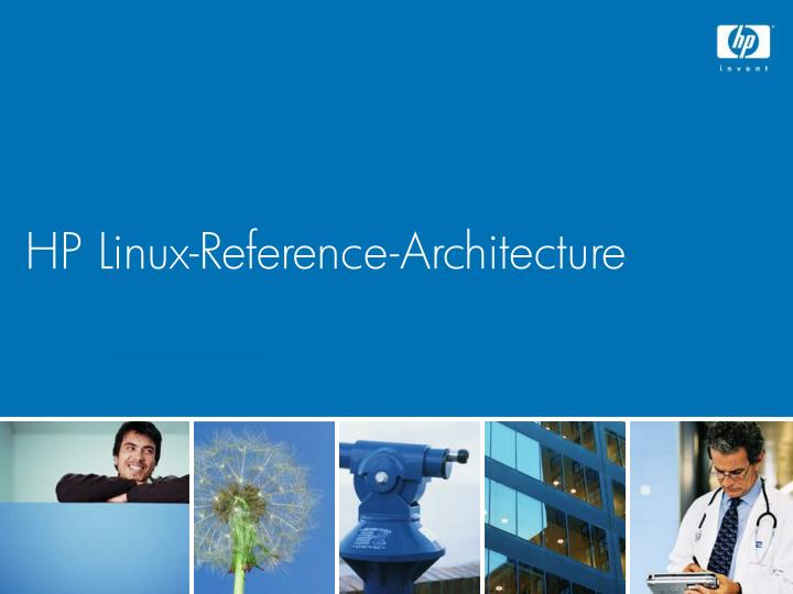 HP Linux-Reference-Architecture